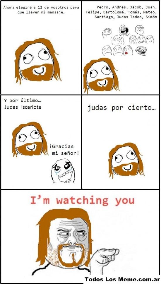 Judas... - meme