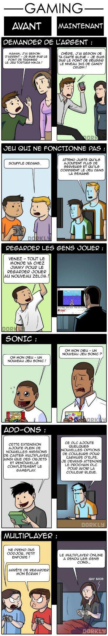Les gamers - meme