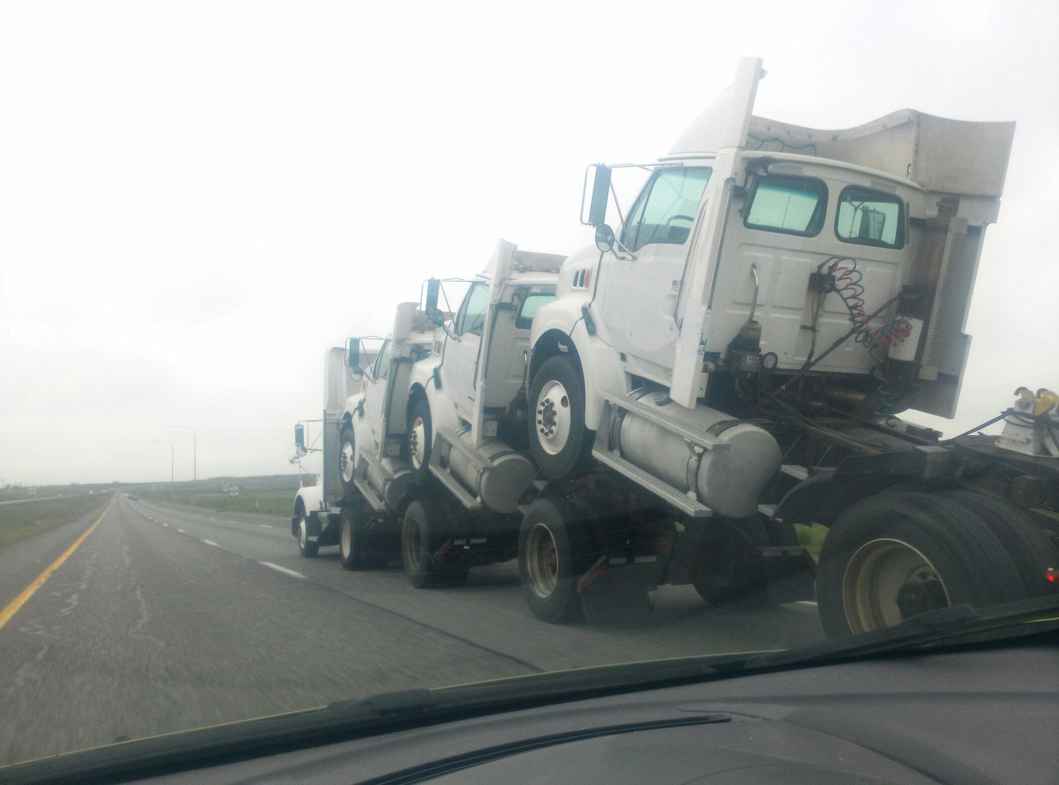 Yo I heard you liked trucks - meme