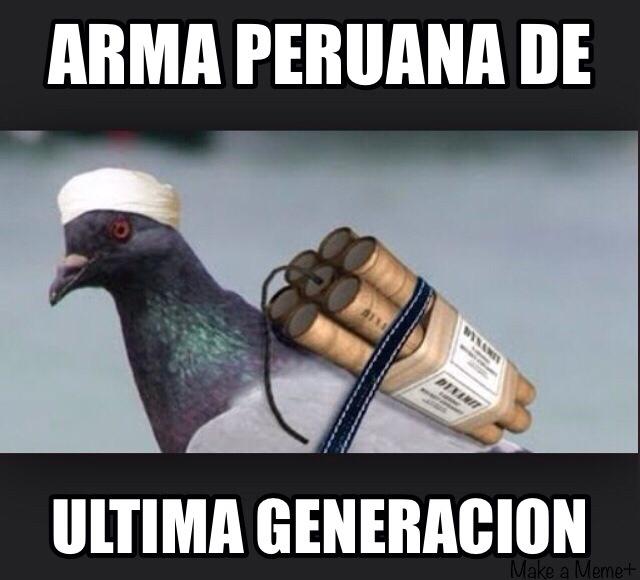 Ay peruanos - meme