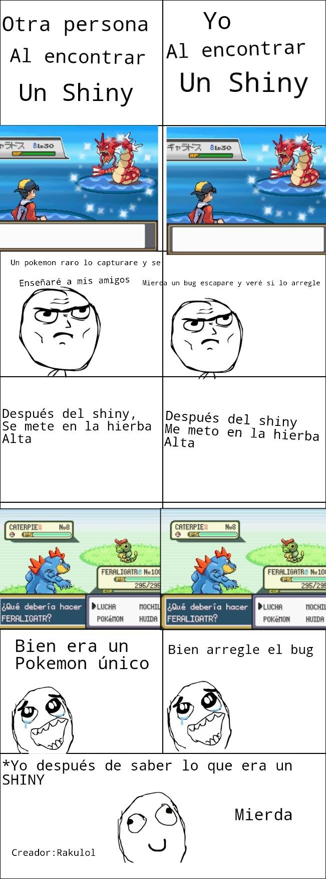 Fola otro shiny!!! - meme