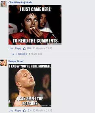 That comments......xDxDxD - meme