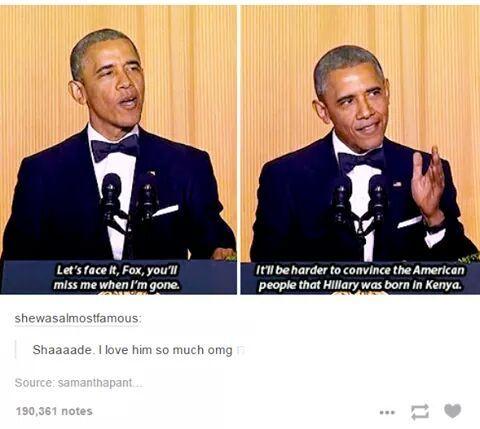Coolest president ever - meme