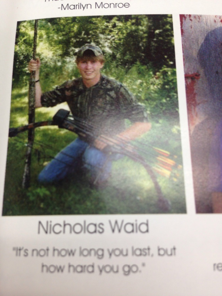 That Yearbook quote - meme