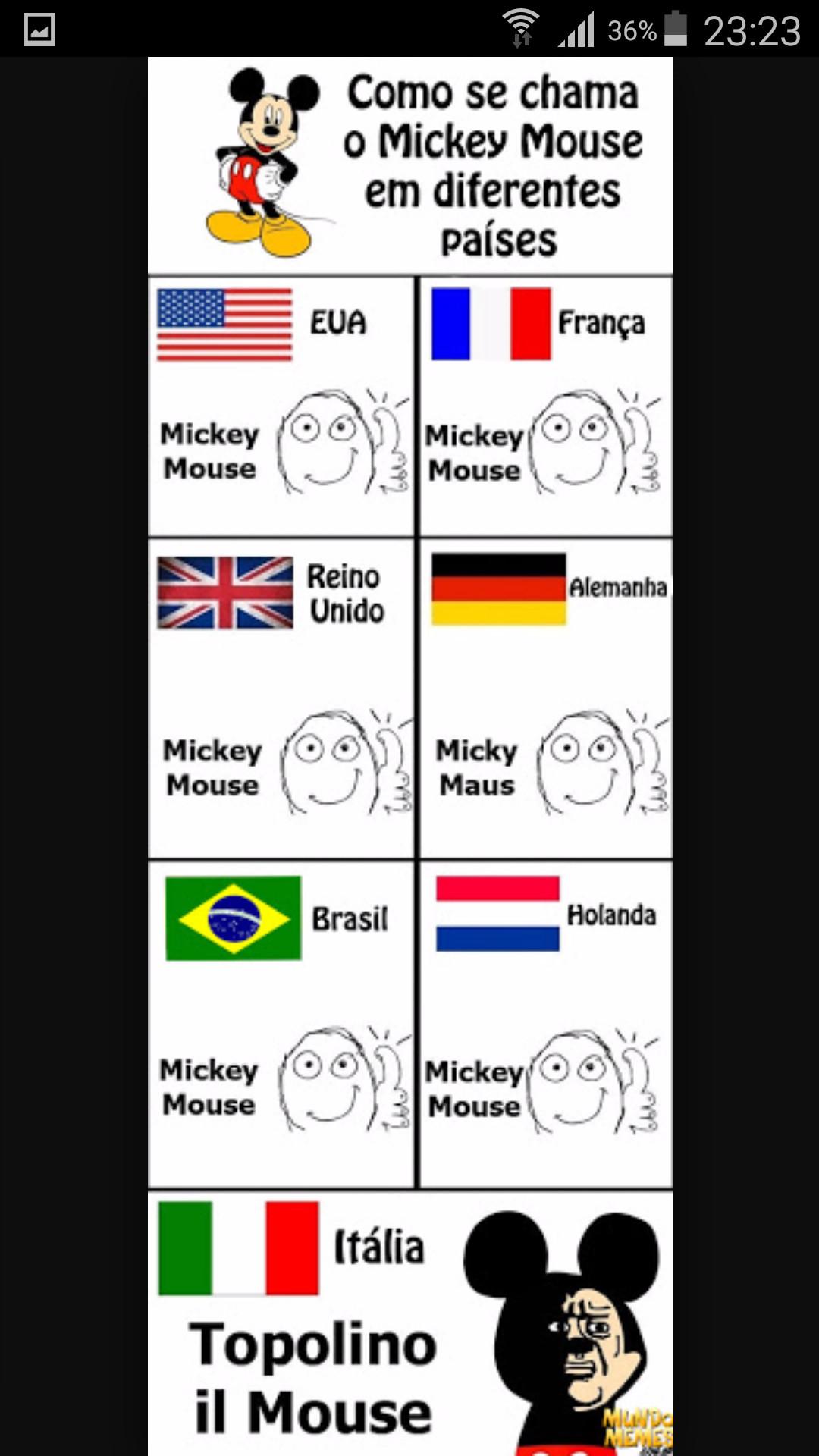 Mickey - meme
