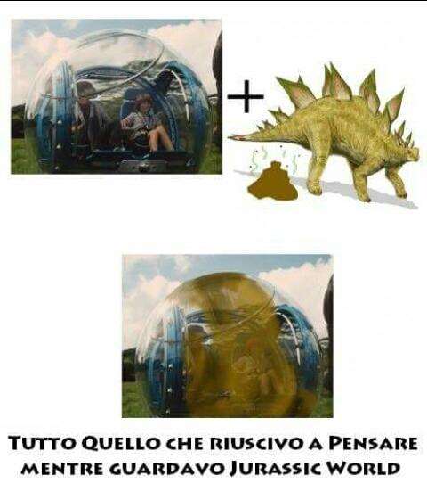 Jurassic Poop  - meme
