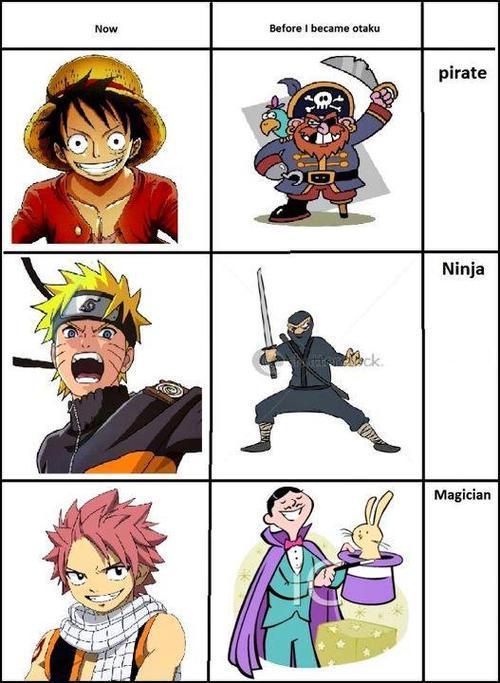 Depuis la sorties de ses manga je ne vois plus le monde pareille - meme