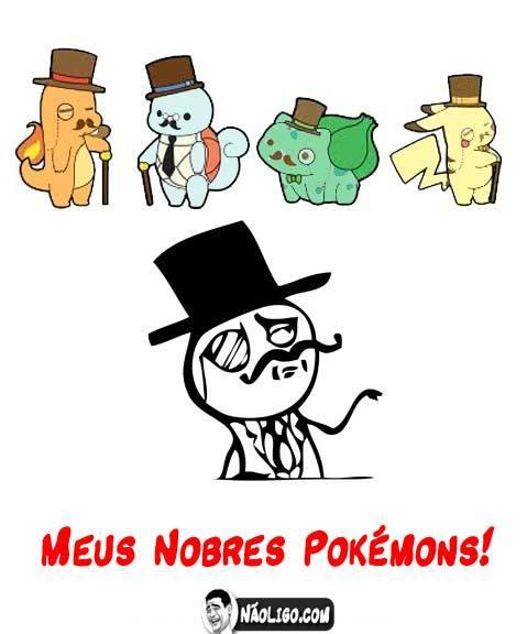 Vamos nobreza Pokemon - meme