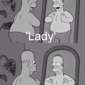 lady..