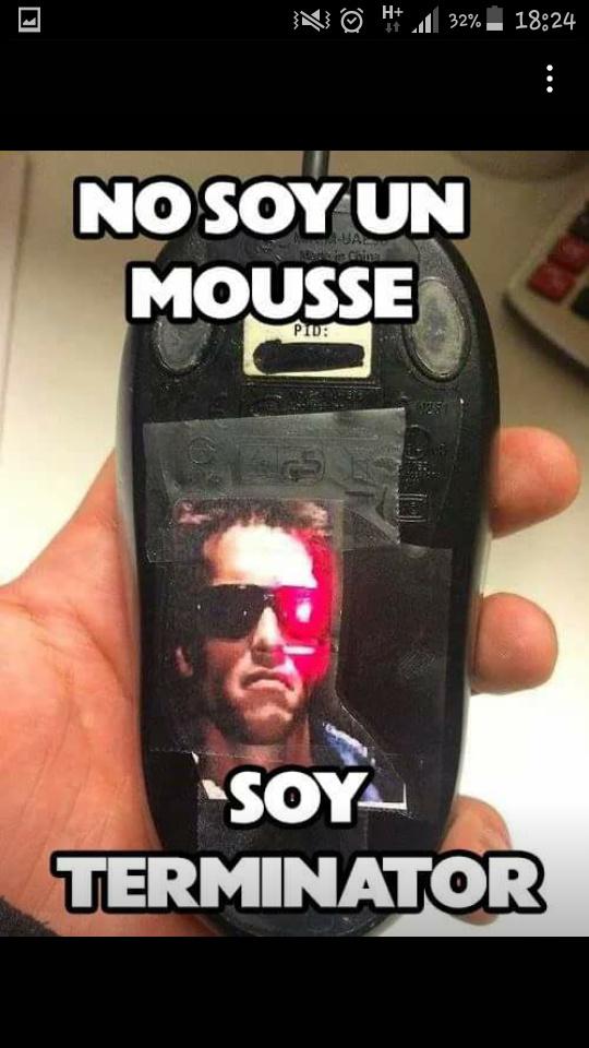 Mouse-nator - meme
