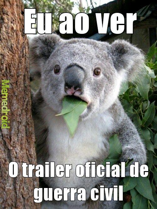 Esse trailer é melhor que o Neymar caindo - meme