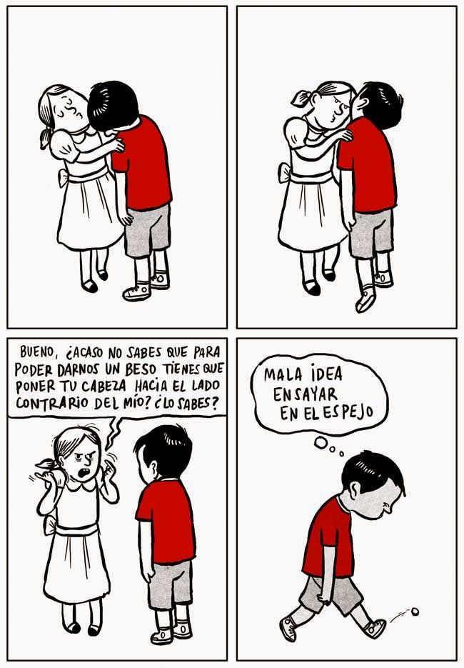 Primer beso - meme
