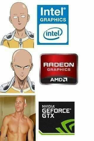 tarjetas graficas - meme