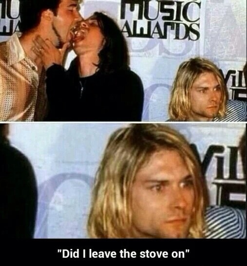 Kurt Cobain, Ladies and Gentlemen - meme
