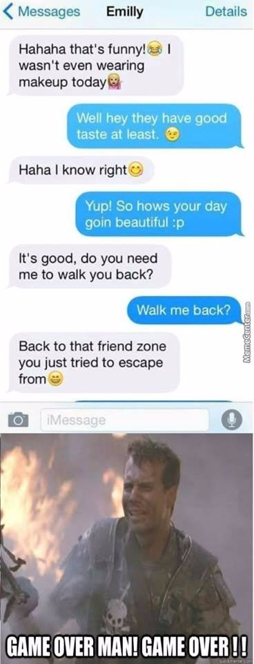 another friendzone attack - meme