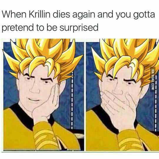 Goku's pain....... - meme