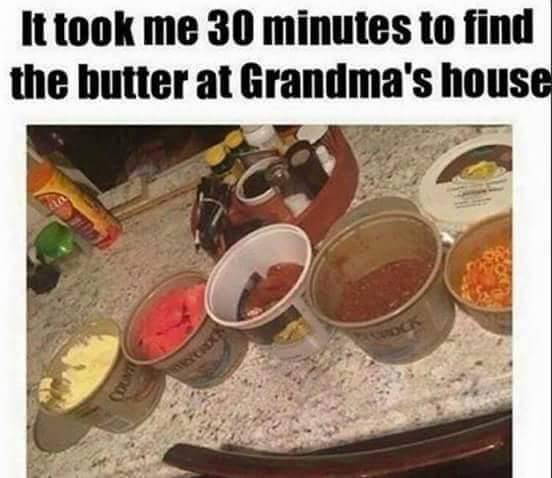 Damnit grandma - meme