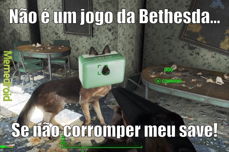 Bethesda Bug - meme