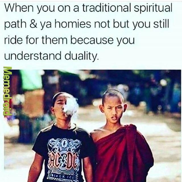Spiritual - meme