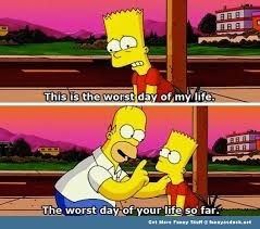 life with Homer is terrible - meme