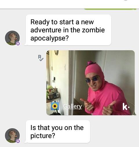 Fuck you kik - meme