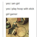 Real gamers play Rock and Hand