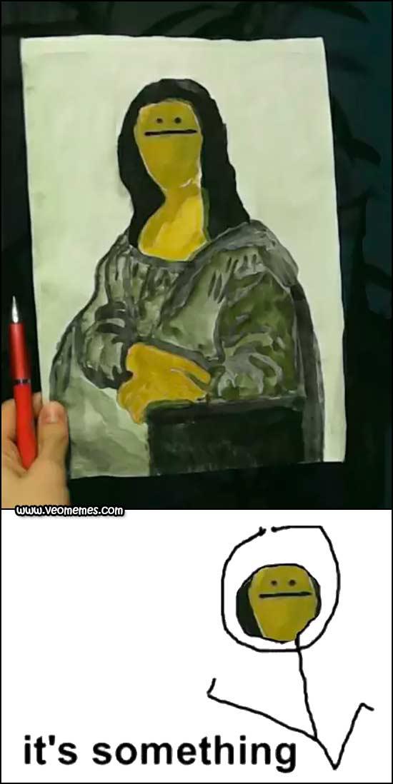 El arte no es tu fuerte - meme
