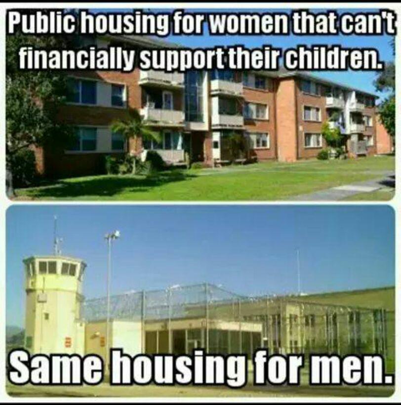 Housing vs prison - meme