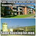Housing vs prison
