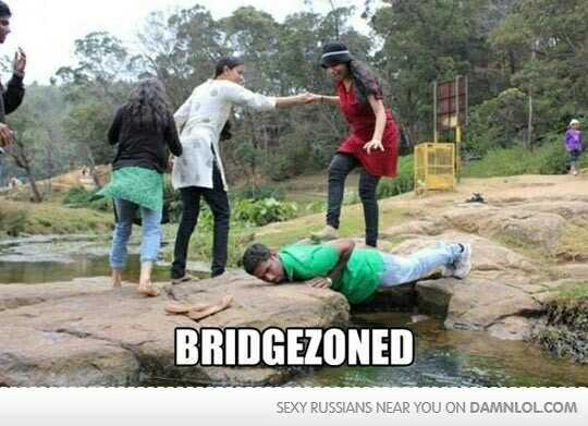 The bridge zone - meme