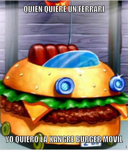 Kangre burger - meme