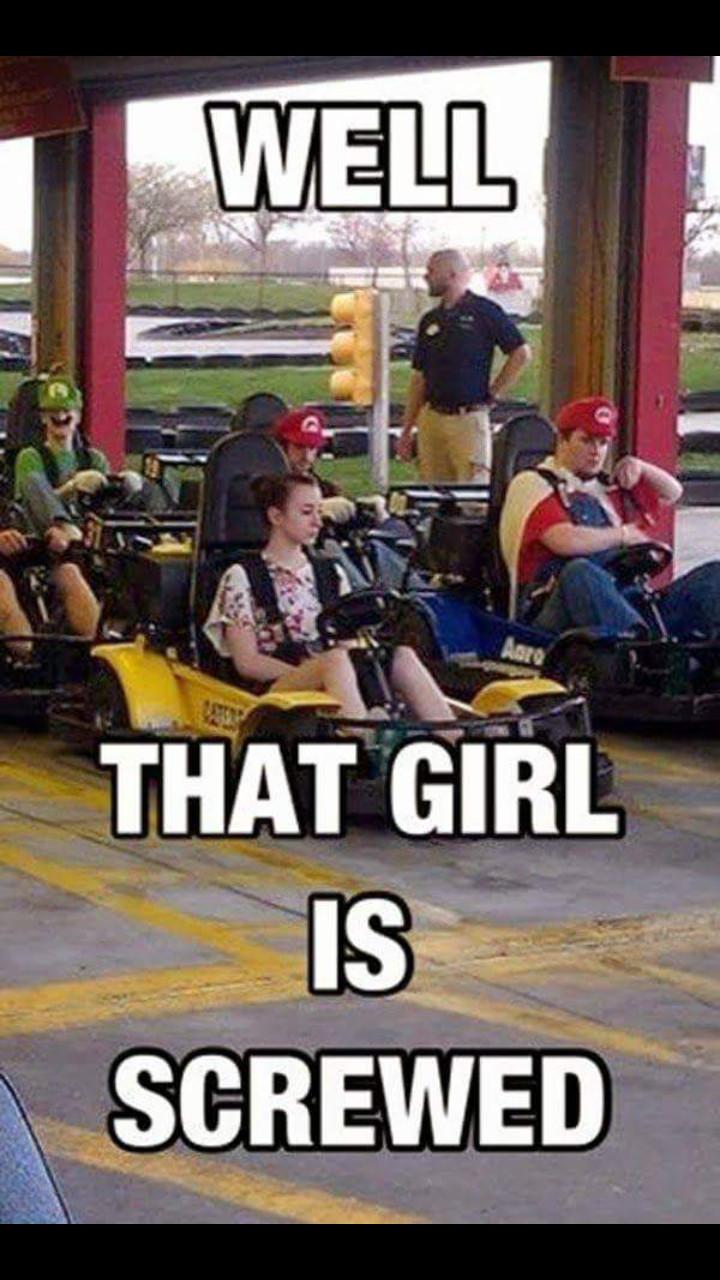 Real Mario Kart - meme