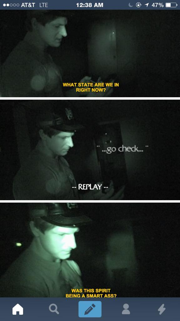 Zak Bagans is awesome - meme