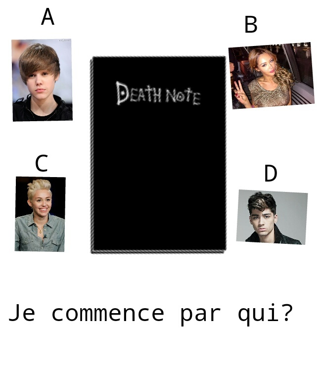 Death note , à qui le tour ? - meme