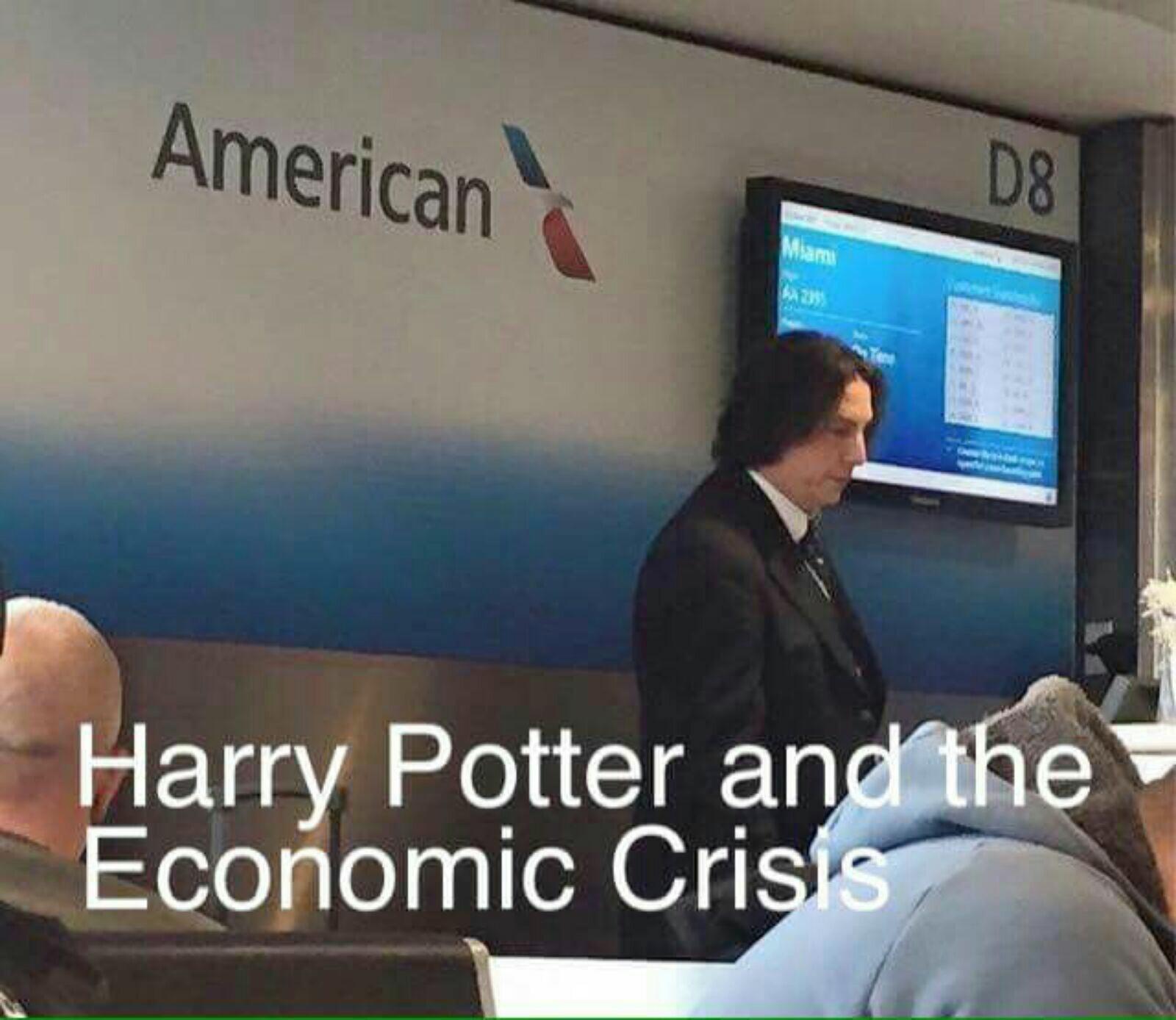 Hogwarts crisis - meme