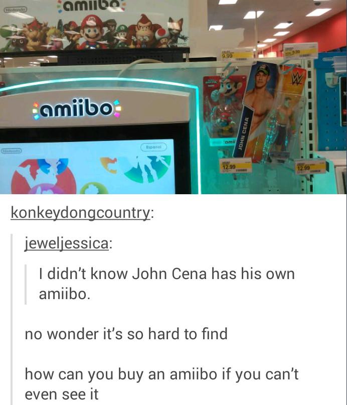 Amiibos make me wet - meme