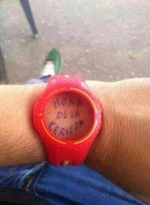 ¿Que hora es? - meme