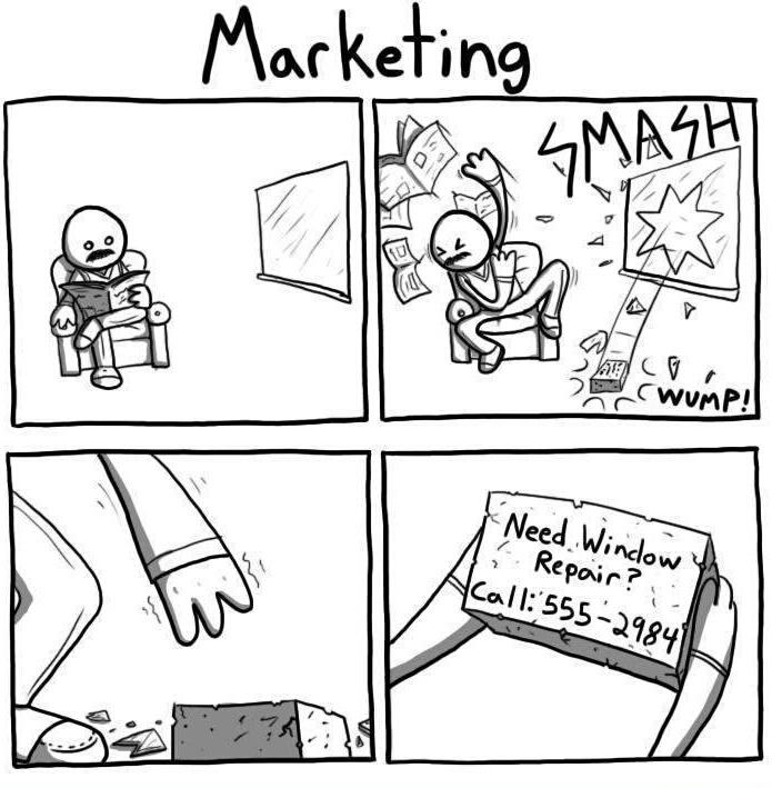 Marketing - meme