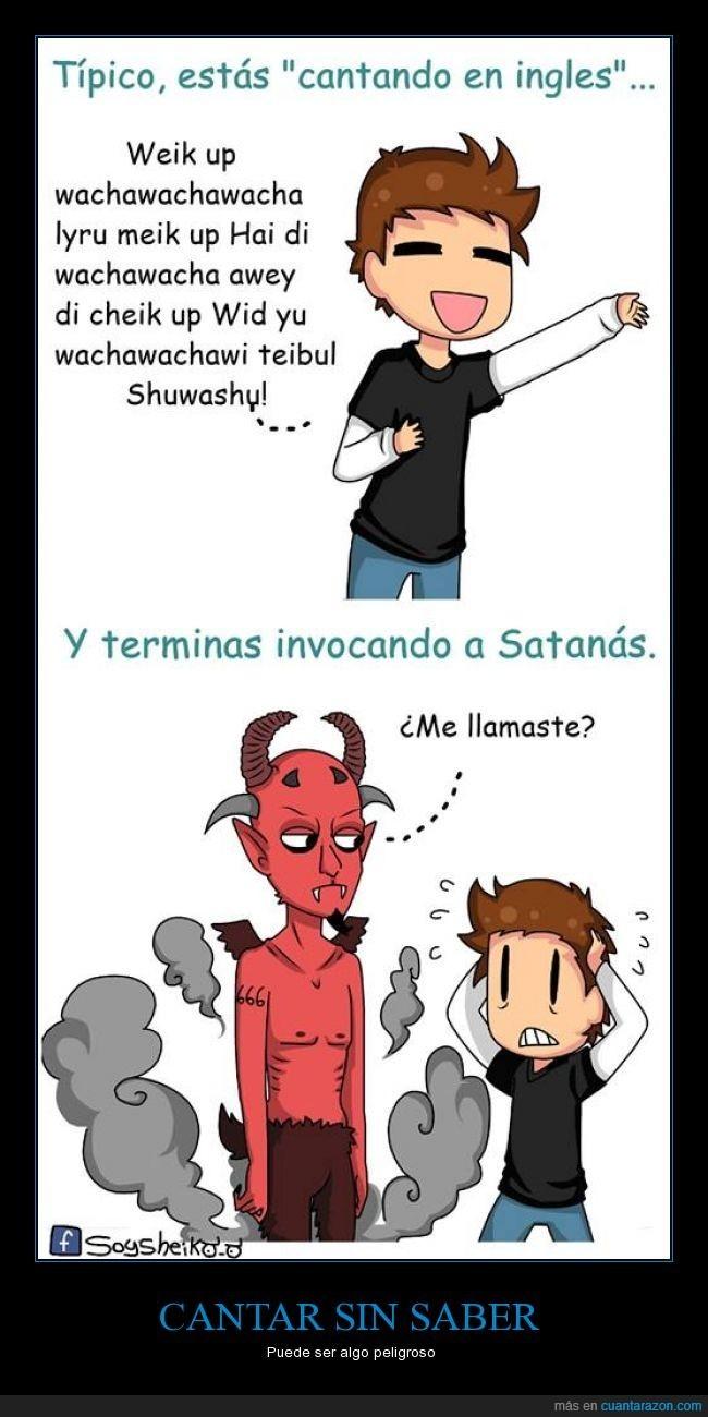 Satan es un titulo - meme