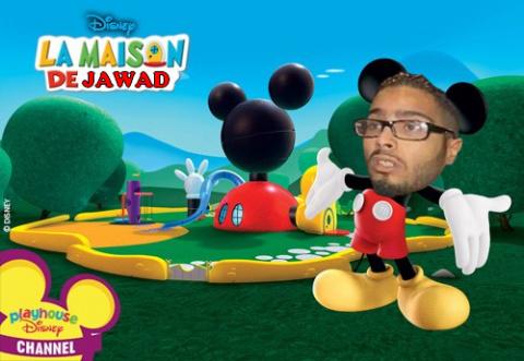 C'est la maison de Jawad - meme
