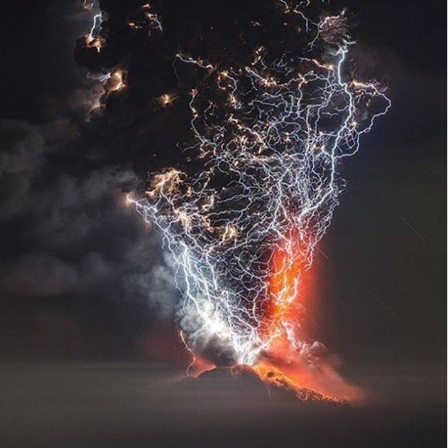 Volcano eruption in chile - meme
