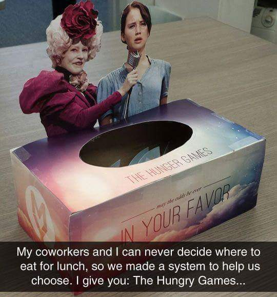 May the odds be with you - meme