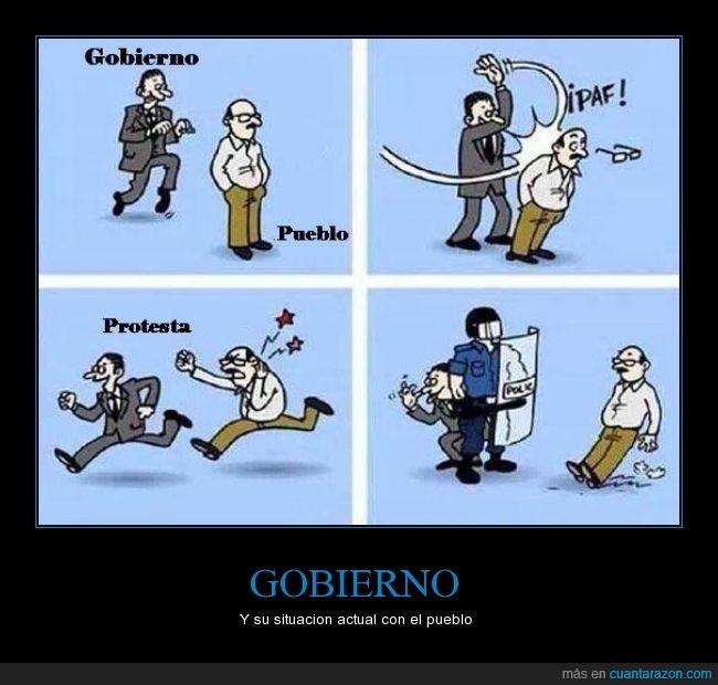 Maldito gobierno - meme