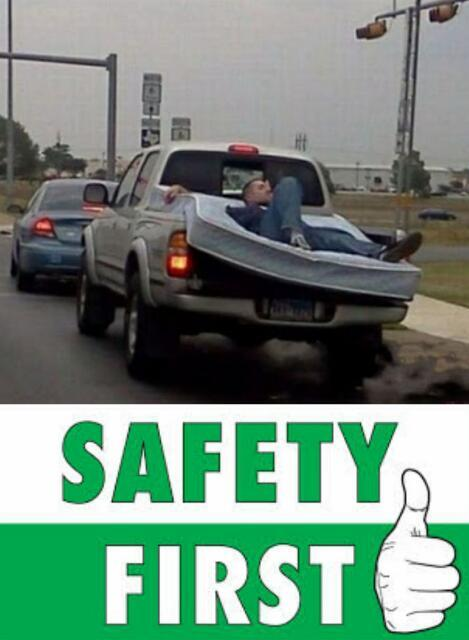 Safety First  - meme