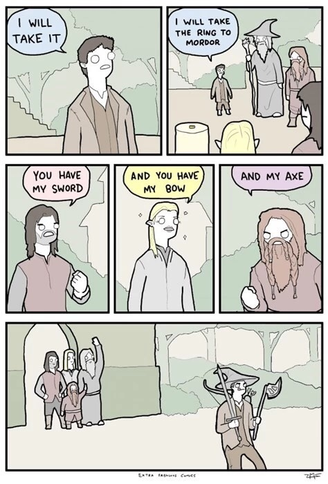 Legolas looking fabulous - meme