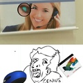 Genius of photoshop