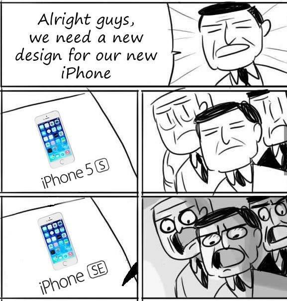 IPhone SE - meme