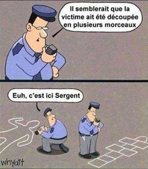 Police nationale - meme