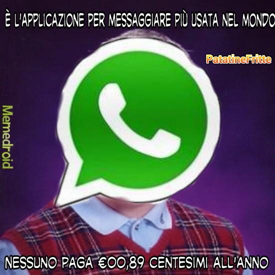 Spero che passi la moderazione. (so che l'icona di Whatsapp fa schifo, ma sono alle prime armi con i ritagli.. ) - meme