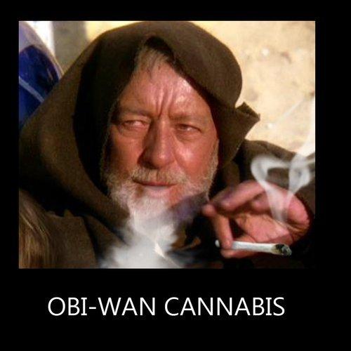 Obi-Wan Cannabis - meme